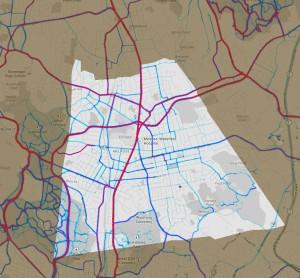 Strava bike map